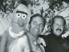Lewis Mahlmann & Frank Oz, with Bert