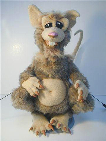Puppet for Cartoon Network