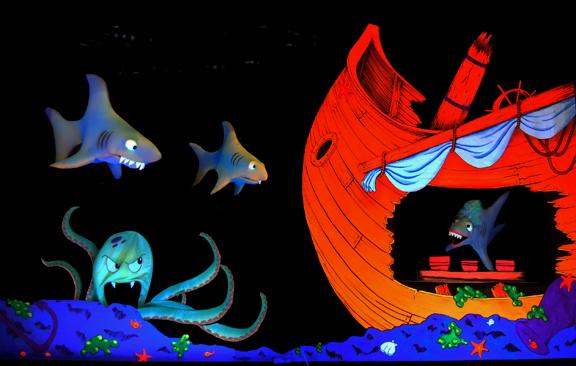 Goldilocks and the Three Sharks