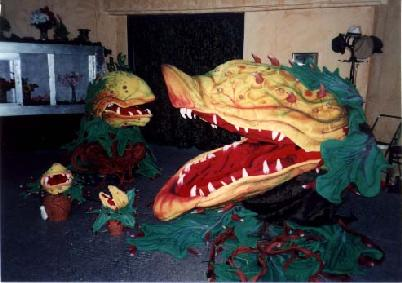 Little Shop of Horrors - Audrey II plants