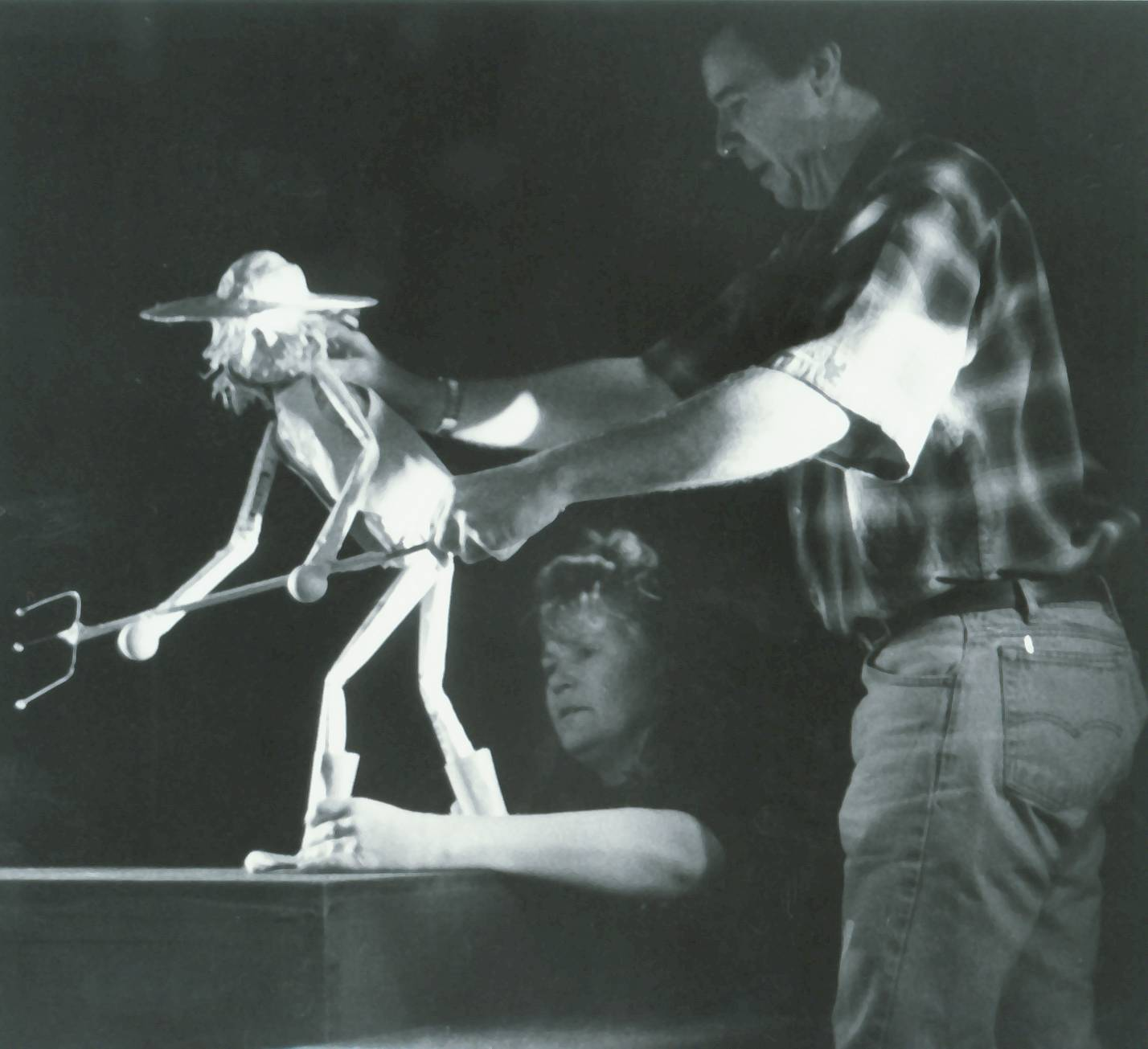 Randal Metz at Muppets masters class with Hester Schell